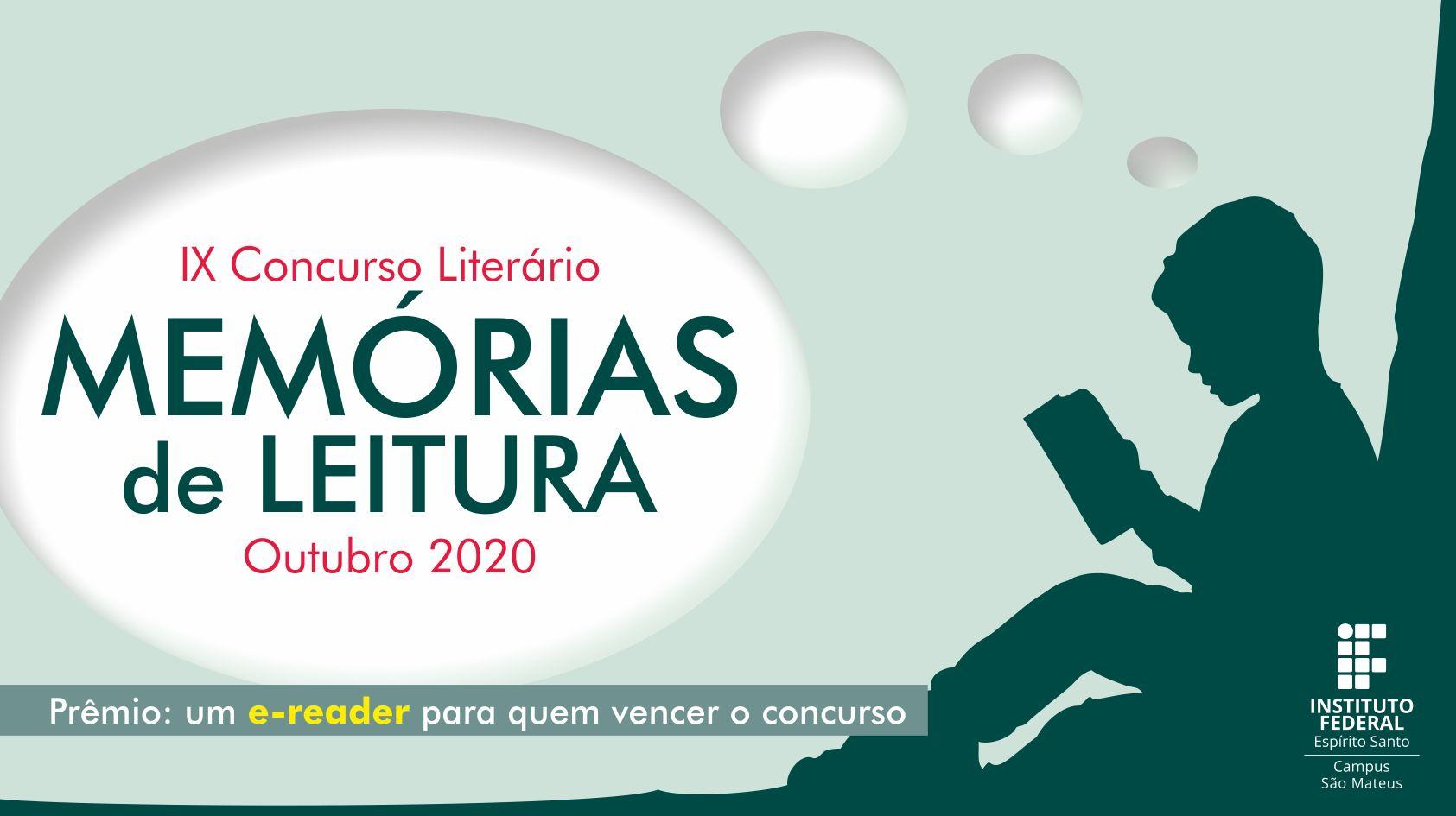 IX Concurso Literário do Campus São Mateus: Memórias de leituras